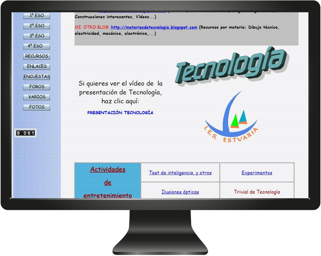 monitor tecnologia
