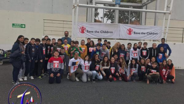 """Carrera Solidaria, en colaboración con las ONG """"Save The Children"""" y el """"Banco de Alimentos de Huelva-UNICEF"""""""