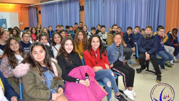 """Visita del alumnado de 6º de Primaria del CEIP """"Virgen del Pilar"""""""