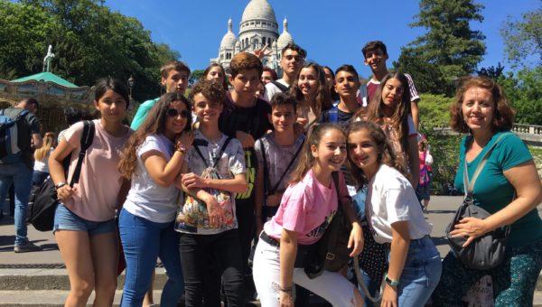 Viaje a París del alumnado de 3º de ESO
