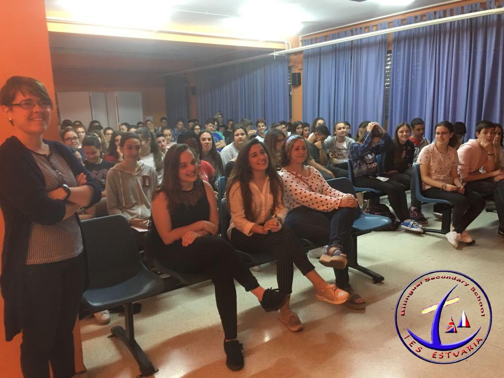 Alumnas del Máster de Formación del Profesorado.