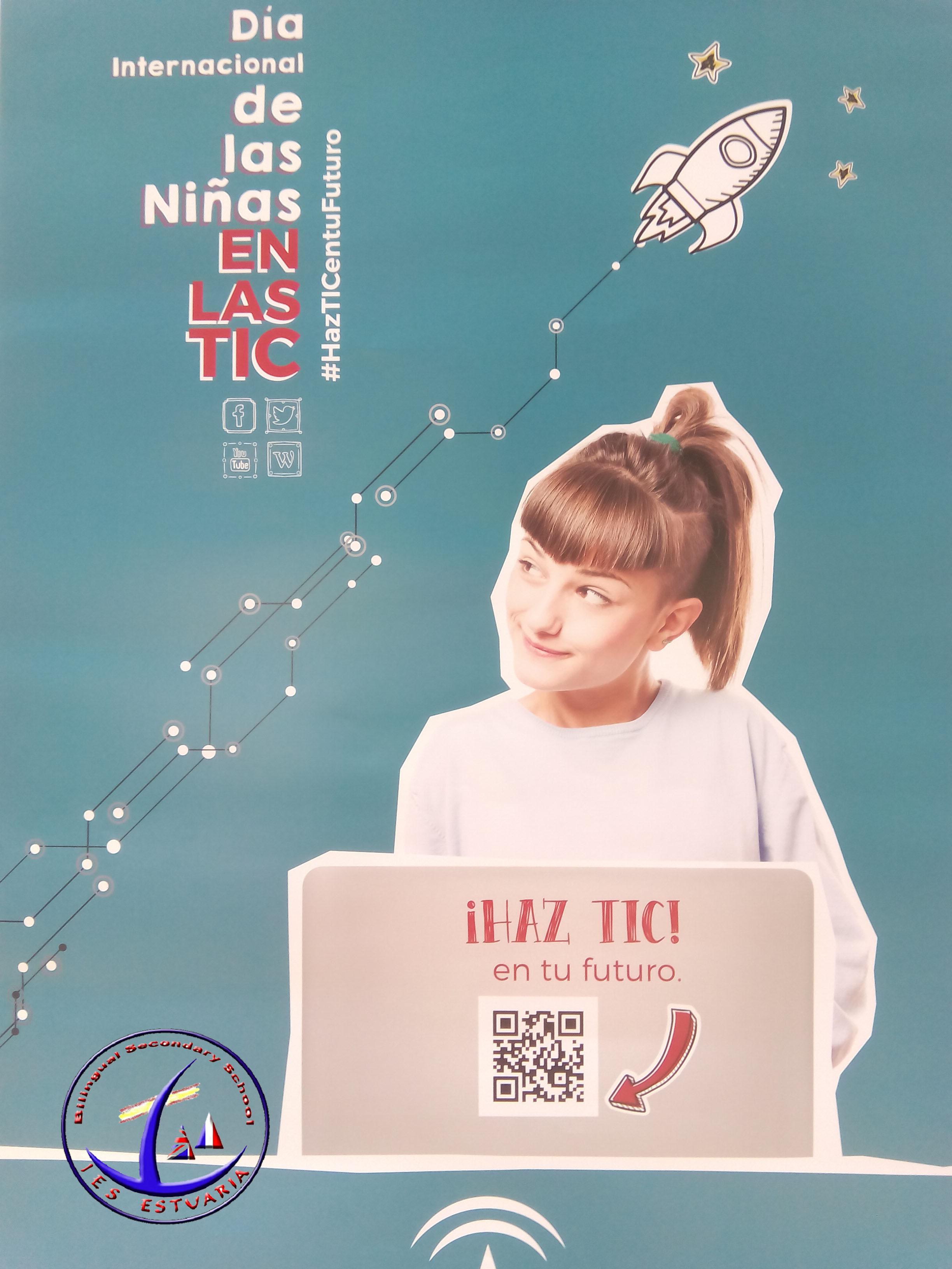 II Campaña Institucional por el Día Internacional de las Niñas en las TIC