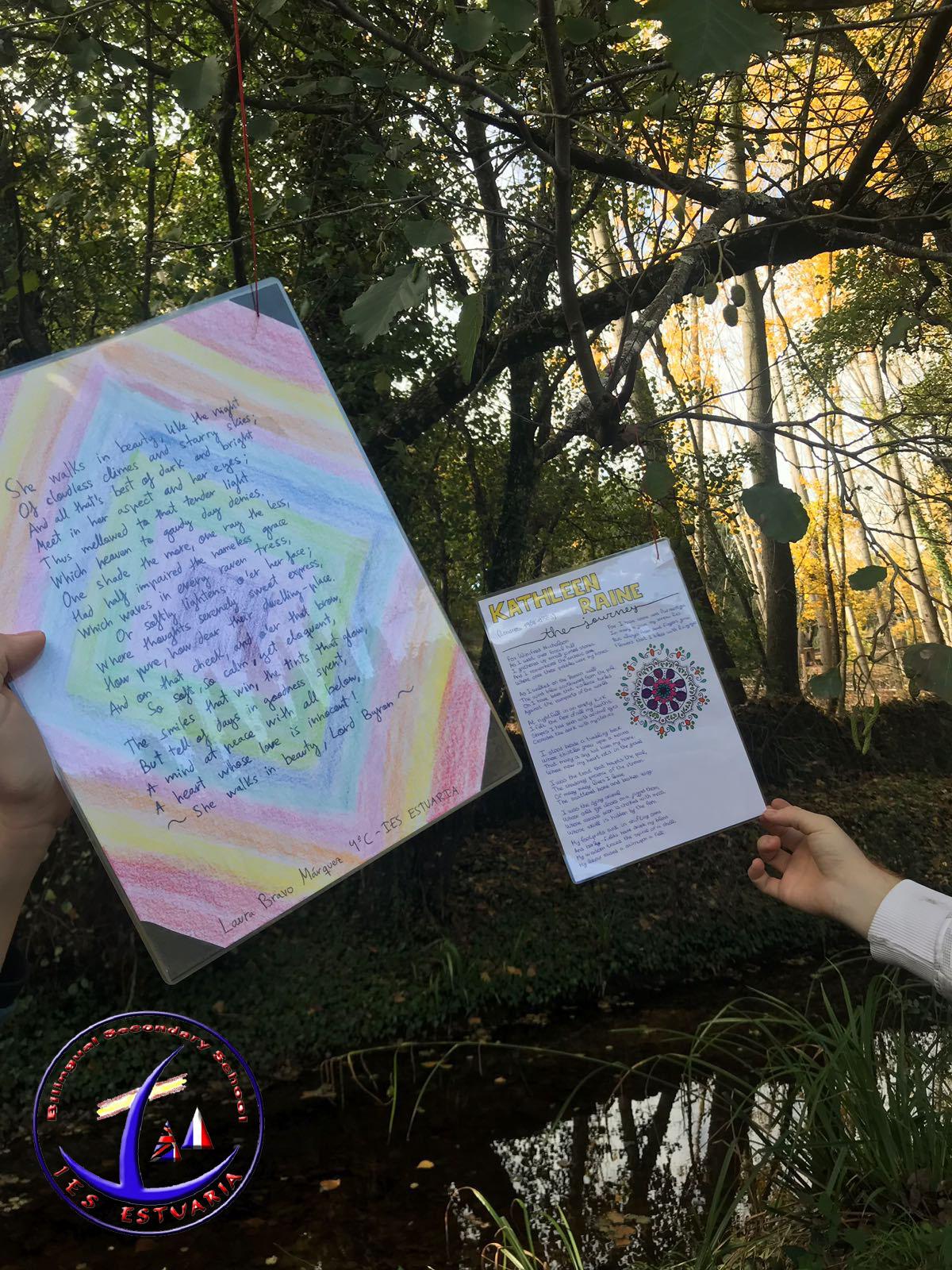 Bosque de las Letras en Sta. Ana La Real