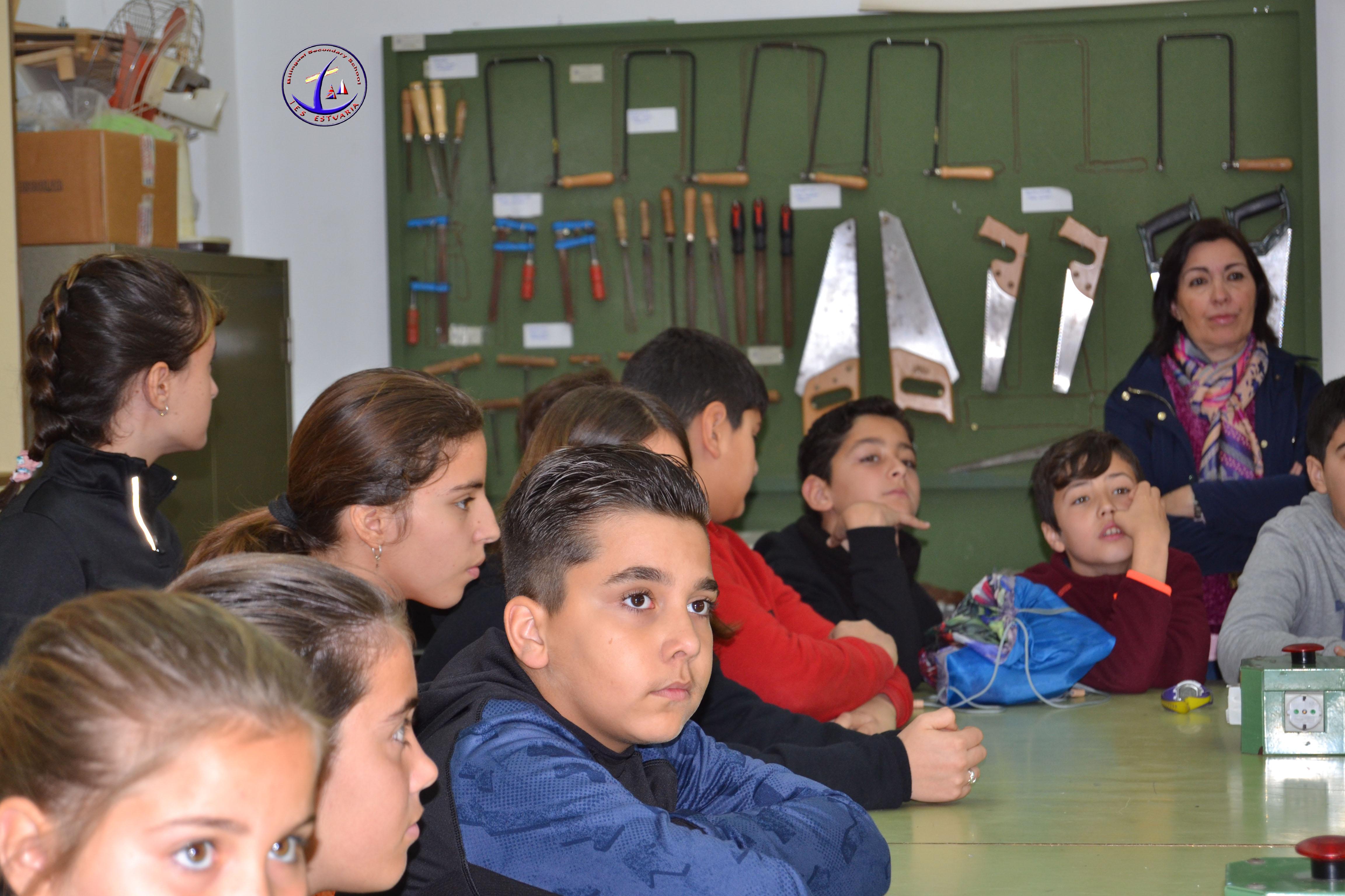 Visita del alumnado de 6º de Primaria del CEIP «Profesora Pilar Martínez Cruz»